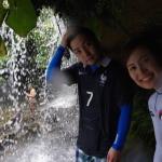 西表島の滝の中でも珍しい滝裏に行けるサンガラの滝へカヌーそしてトレッキングでトライ!