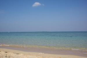 濁りのない綺麗な海