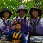 台風後のツアーは水量も多く滝も迫力満点!西表島 カヌーツアー