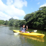 一人旅でもたのしめるのが西表島のんぷらカヌーツアー&トレッキングツアー